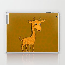 Giraffe - Sepia Brown Laptop & iPad Skin