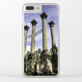 The Columns of Windsor Castle Clear iPhone Case