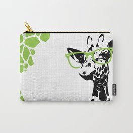 Hipster Giraffe Carry-All Pouch