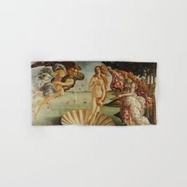 The Birth of Venus by Sandro Botticelli Hand & Bath Towel