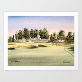 Oakmont Golf Course Art Print
