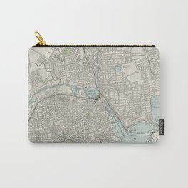 Vintage Map of Providence Rhode Island (1901) Carry-All Pouch