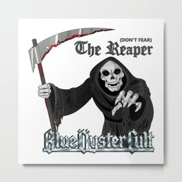 Blue Oyster Cult: Don't Fear The Reaper Metal Print