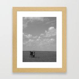 Nomadic Culture of InnerMongolia Framed Art Print