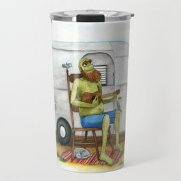Ukulele Monster Travel Mug