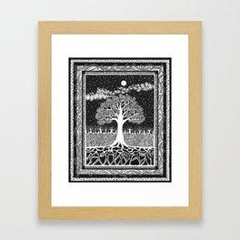 Forest Dance Framed Art Print