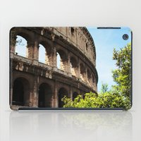 rome iPad Cases featuring Rome by Anya Kubilus