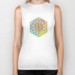 Hidden Jewel - The Rainbow Tribe Collection Biker Tank