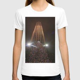 Christmas At Rockefeller T-shirt