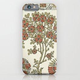 Ornate tree pattern iPhone Case