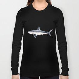 Porbeagle shark (Lamna nasus) Long Sleeve T-shirt