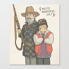 Hunt for the Wilderpeople Canvas Print