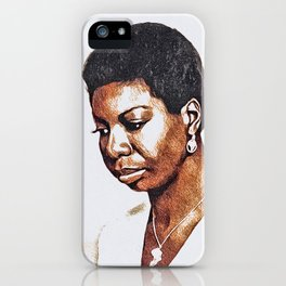 Nina Simone, Music Legend iPhone Case