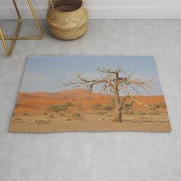 Namibia Desert with Sand Dunes Rug