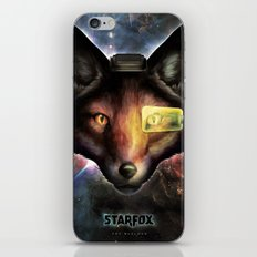 Star Fox McCloud Epic Space Poster iPhone & iPod Skin