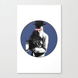 the filmaker Canvas Print