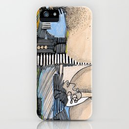 Structure iPhone Case