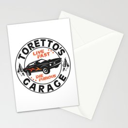 Fast & Furious - Toretto's Garage Stationery Cards