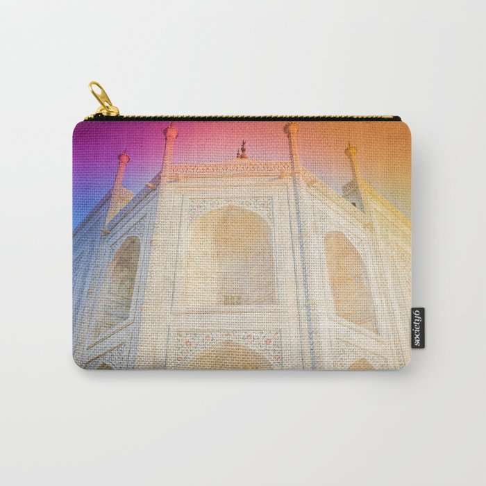 Morning Light at Taj Mahal Carry-All Pouch