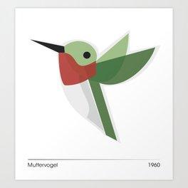 Muttervogel Art Print
