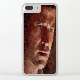 J, Sheppard Clear iPhone Case