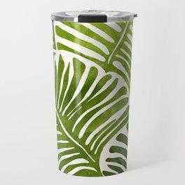 Summer Fern / Simple Modern Watercolor Travel Mug