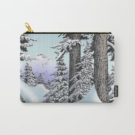 Snowed in the Douglas Fir Carry-All Pouch