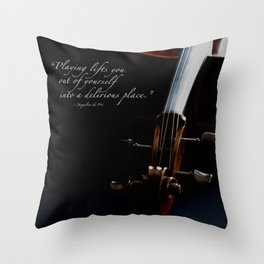 Delirious Place Throw Pillow