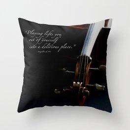 Delirious Place Throw Pillow