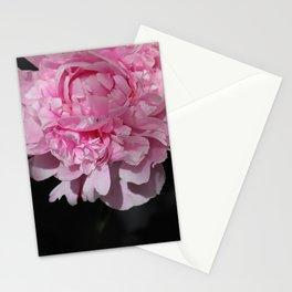 Peonia rosada 2 Stationery Cards