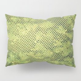 Green Heavens From Above Pillow Sham