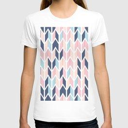 Colorful Geometric Pattern V T-shirt