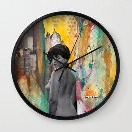 Just As I Am Wall Clock
