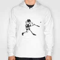 baseball Hoodies featuring Baseball by Lukas Klepke