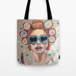 Nicotine Vanity Tote Bag
