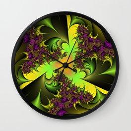 Colors Fantasie Wall Clock
