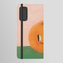 Happy happy Tangerine Android Wallet Case