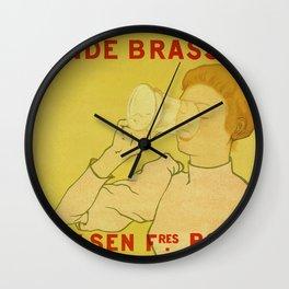 Van Velsen Belgian beer Wall Clock