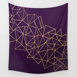 Ultra Purple Geo Wall Tapestry