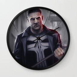 The Punisher Wall Clock
