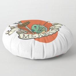 Reverse Mermaid Floor Pillow