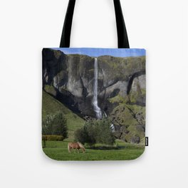 Horse in Iceland Tote Bag