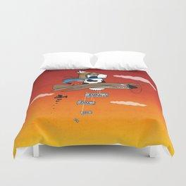 Muso Milkwar Aircraft Duvet Cover