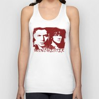 winchester Tank Tops featuring Team Winchester by Panda Cool