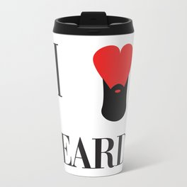 I heart Beards Travel Mug
