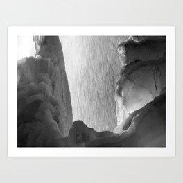 Cornet Creek Falls in Telluride, CO Art Print