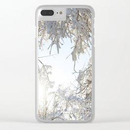 Return of the Sun Clear iPhone Case