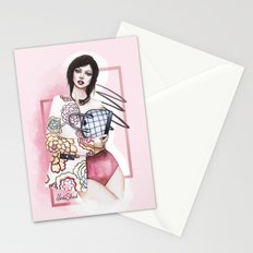 Flowers are always in fashion Stationery Cards