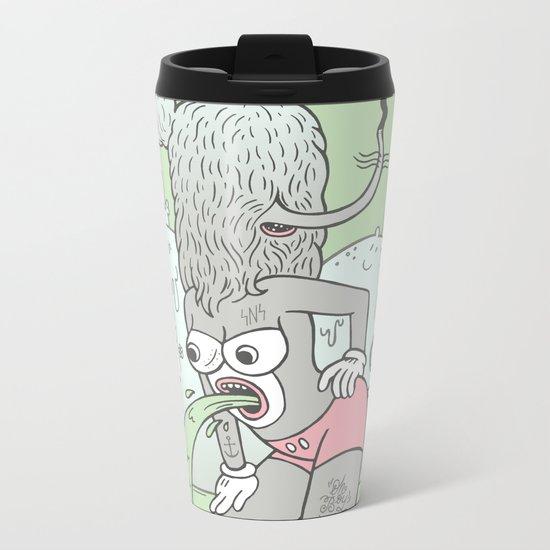 knee deep Metal Travel Mug