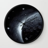lunar Wall Clocks featuring Lunar by BevyArt